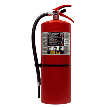 Sentry 20lb. FORAY Extinguisher w/ Hanger